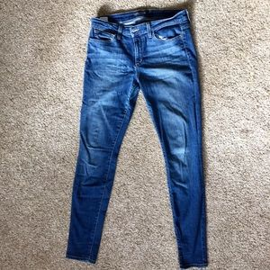 """Joes jeans """"the skinny"""" fit blue jean"""